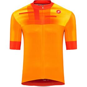Castelli A Bloc Maillot de cyclisme Homme, orange